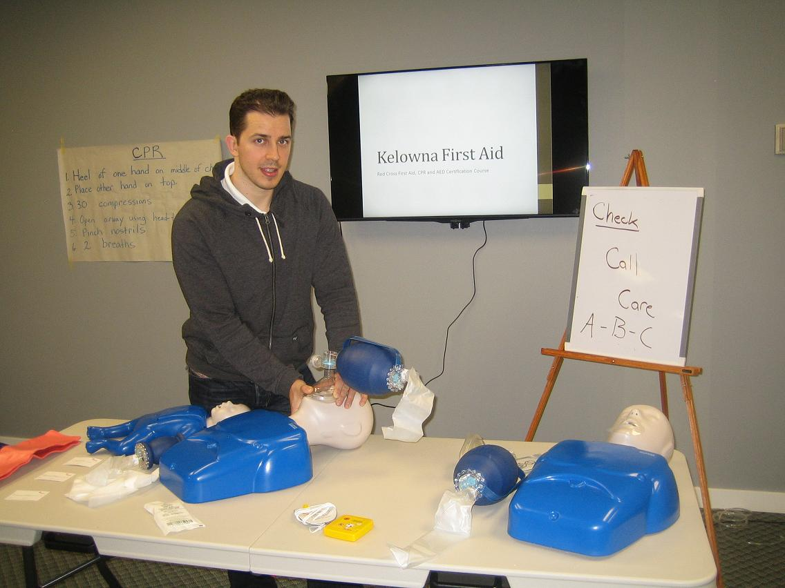 Workplace approved first aid and cpr training in kelowna first aid and cpr training courses in kelowna xflitez Image collections